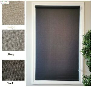 Blackout Roller Blinds (60-300)x210cm Beautiful Fabric On Sale 1/2 Price