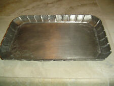 Vintage Pewter Tray from Frieling-Zinn Germany Emboss