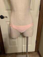 Pilyq Rose Braided Teeny Bikini Bottoms Medium NWT (120)