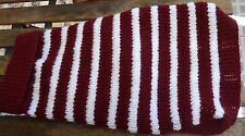 BRAND NEW DOGS JUMPER - MANLY SEA EAGLES - HAND KNITTED WITH LOVE IN AUSTRALIA