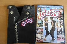 Grease DVD Rockin' Rydell Edition w/ T-Birds Leather Jacket Cover DVD: Region 1