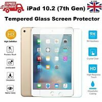 """New 3D Tempered Glass Screen Protector Film For Apple iPad 10.2"""" 7th Generation"""