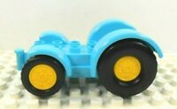 Lego Duplo Tractor Base 2x6 teal