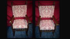 Paire de fauteuils  début XX siècle