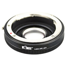 Adapter Mount Ring Nikon AF Lens to Camera Photo Sony Alpha / Minolta AF