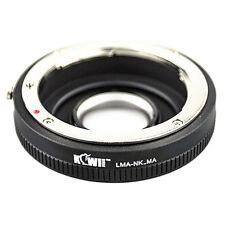 Bague montage adaptateur nikon af lens pour caméra photo Sony Alpha / Minolta AF
