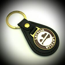 Keychain Latvia Metal Travel Tourist Souvenir Collection & Gift 722