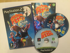 2 x PS2 PLAYSTATION 2 PAL GAMES DISNEY'S CHICKEN LITTLE + ACE IN ACTION