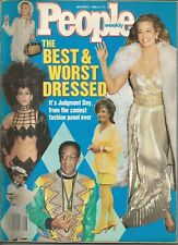 THE BEST & WORST DRESSED - PEOPLE WEEKLY MAGAZINE - DECEMBER 1, 1986 ISSUE