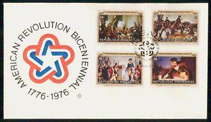 MayfairStamps Rwandese 1976 American Revolution Bicentennial Event Cover wwm4707