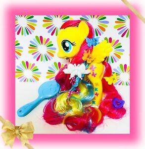 ❤️My Little Pony G4 Styling Strands Fluttershy Fashion Pony Rainbow Long Hair❤️