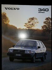 Volvo 340 Series Brochure 1980
