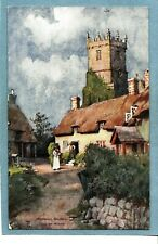 GODSHILL CHURCH  ISLE OF WIGHT - Unposted Vintage Postcard
