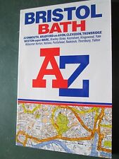 AZ street plan BRISTOL Avonmouth Bradford on Avon  and surrounding area book