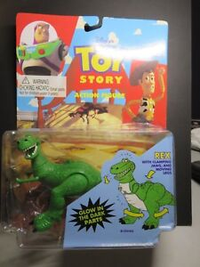 Think Way Toy Story Rex with clamping jaws and moving legs. 1996