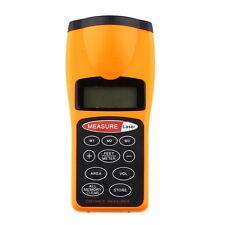 Ultrasonic Distance Measure Laser Point Rangefinder LCD backlight New