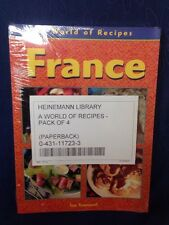 A World Of Recipes Set Of 4 By Sue Townsend France Greece Germany Thailand NEW
