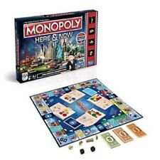Hasbro Monopoly Here and Now Board Game Own Americas Favorite Cities Made in USA