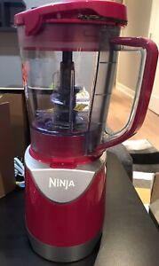 Ninja BL206QF Kitchen Pulse Blender, Pink