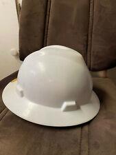 White V-Gard Hardhat Medium Size