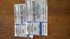 subcircus 22nd april 1997 wedgewood rooms portsmouth 2 tickets