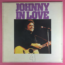 JOHNNY CASH - JOHNNY IN LOVE - Meilleur Des - CBS rds-7034 EX+ état Vinyle LP