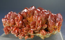 "AMAZING BLOOD RED VANADINITE CRYSTALS ""FLOWER BOUQUET"", MIBLADEN, MOROCCO"