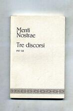 MANTI NOSTRAE # TRE DISCORSI # De Sacerdotio n.3 # 1971 1A ED