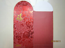 Rhb Year 2016 Flower Chinese New Year Ang Pow/Red Money Packet 2pcs