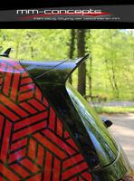 Cup Dachspoiler Ansatz schwarz für VW Golf 7 GTI Clubsport Heck Spoiler Splitter