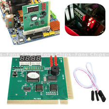 New LED 4 Digit Analysis Diagnostic Tester POST Card PCI PC Analyzer Motherboard