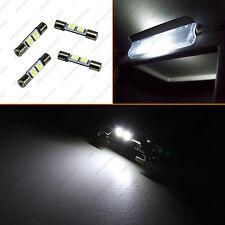 4x White F30-WHP 6614F 6641 Fuse Type Bulbs Visor Vanity Mirror LED Lights