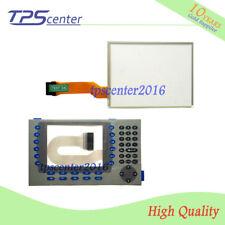 Touch screen panel for AB 2711P-B7C4D8 2711P-B7C4A8 with Membrane keypad
