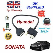 For Hyundai Sonata iPhone 3gs 4 4s iPod USB & Aux Cable Model Year 2012+