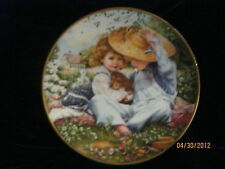 """1989 """"A Time To Love"""" March Of Dimes Collector Plate # 19725A"""