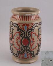 99845155 Keramik Vase Karlsruher Majolika ab 1901