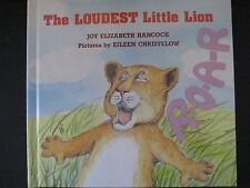 THE LOUDEST LITTLE LION HARDCOVER AUTOGRAPHED NEW Empowering Rare Out-of-print