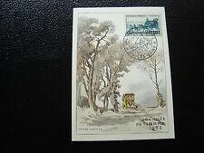 FRANCE - carte 8/3/1952 journee du timbre aix-les-bains (cy6) (A)