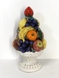 Pier 1  Italy Fall Fruit PitcherFall DecorationItaly Ceramic