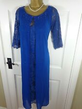 Veni Infantino Mother Of The Bride Royal Blue Lace Beaded Outfit, 16, BNWT £499