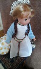 costume Anne de Bretagne pour poupée 35/39 cm