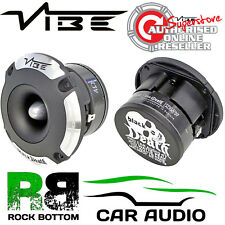 Vibe BDPRO4T-V1 Blackdeath Pro Audio 4 inch 300 watt Bullet Single Tweeter