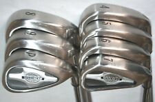Callaway Steelead X-14 Pro Series 4-PW iron set with Callaway Rifle stiff shafts