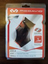 McDavid 6301 Dual Ankle Compression Support Sprain Pain Sports Brace Tape Strap