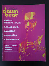 DOWN BEAT MAGAZINE-JULY 17 1975-GROVER WASHINGTON JR-CARLOS WARD-AL FOSTER