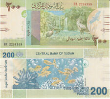 SUDAN 2019 200 pounds UNC