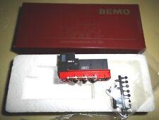 """Bemo H0e 1011 851   """"Rügen"""" Heeresfeldbahn HF 130C """"199001-9""""  neu, OVP"""