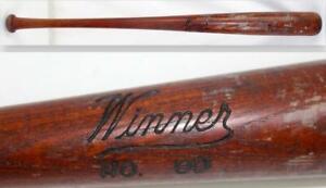 1930 Winner No.90 Regulation Baseball Bat Hillerich & Bradsby Louisville Slugger
