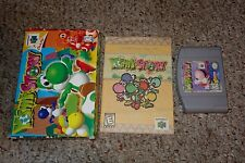 Yoshi's Story (Nintendo 64 n64, 1998) Complete in Box GREAT A B C