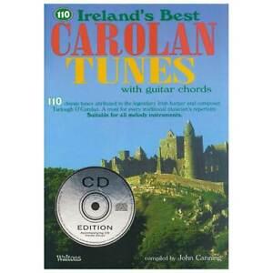 110 Best Carolan Tunes (Melody & Chords) Book & CD